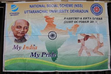 """Uttaranchal University observes """"Rashtriya Ekta Diwas-2020"""""""