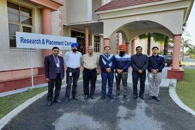 Visit of President, Indo - German Brakes Pvt. Ltd. at Uttaranchal University, Dehradun