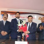Law College Dehradun felicitates Mr. Devansh Rathore for clearing Uttarakhand Judicial Services