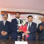 Law College Dehradun felicitates Mr. Devansh Rathore for clearing Uttarakhand Judicial Services