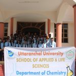 Industrial Visit to Centre for Aromatic Plants (CAP), Selaqui by Department of Chemistry, SALS.