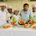 Workshop on Fruits and vegetables carving and practical session based on Punjabi cuisine and Italian cuisine
